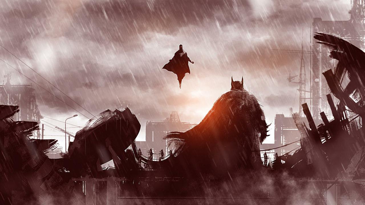 Batman v Superman Fight Scene