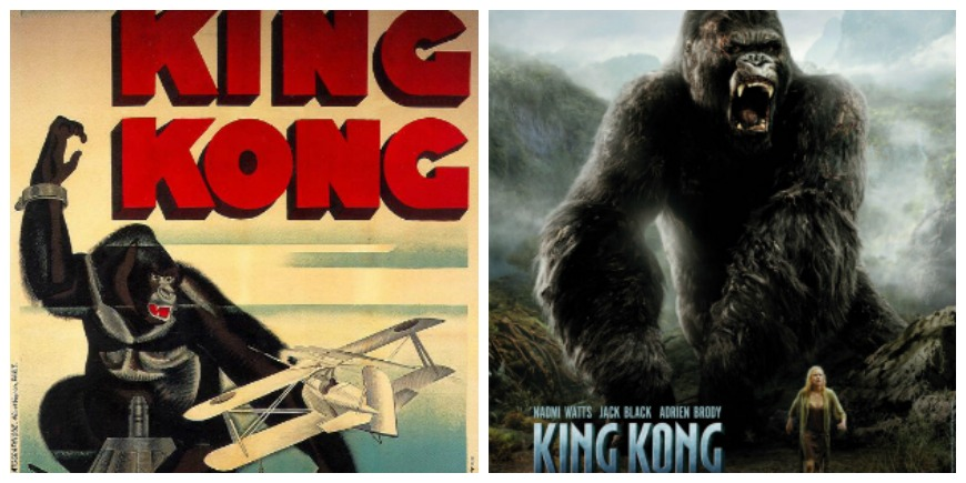 King Kong adaptacions cinematogràfiques