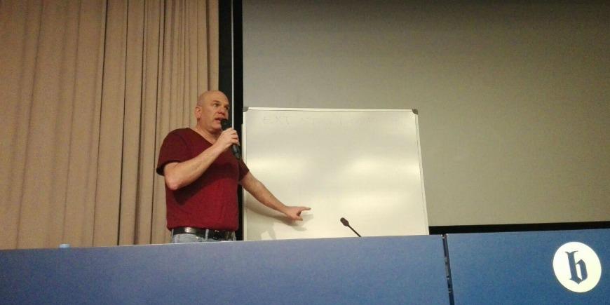 Masterclass David Simon Facultat comunicació Blanquerna