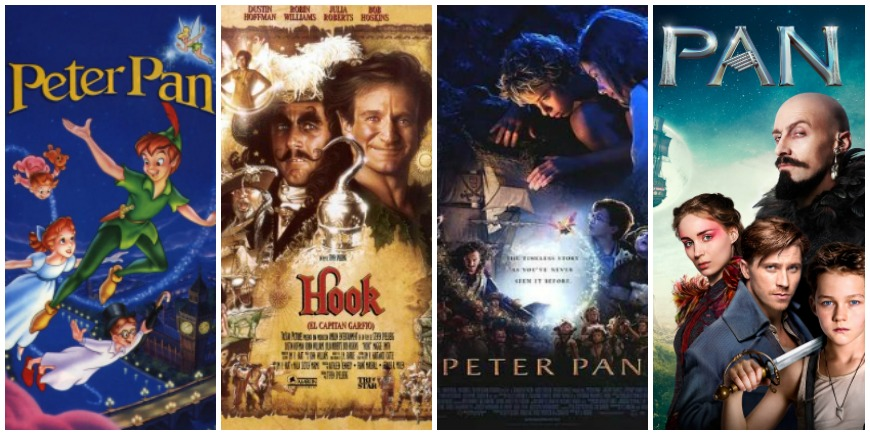Versions cine Peter pan