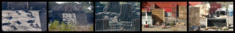 set rodatge Alien Covenant