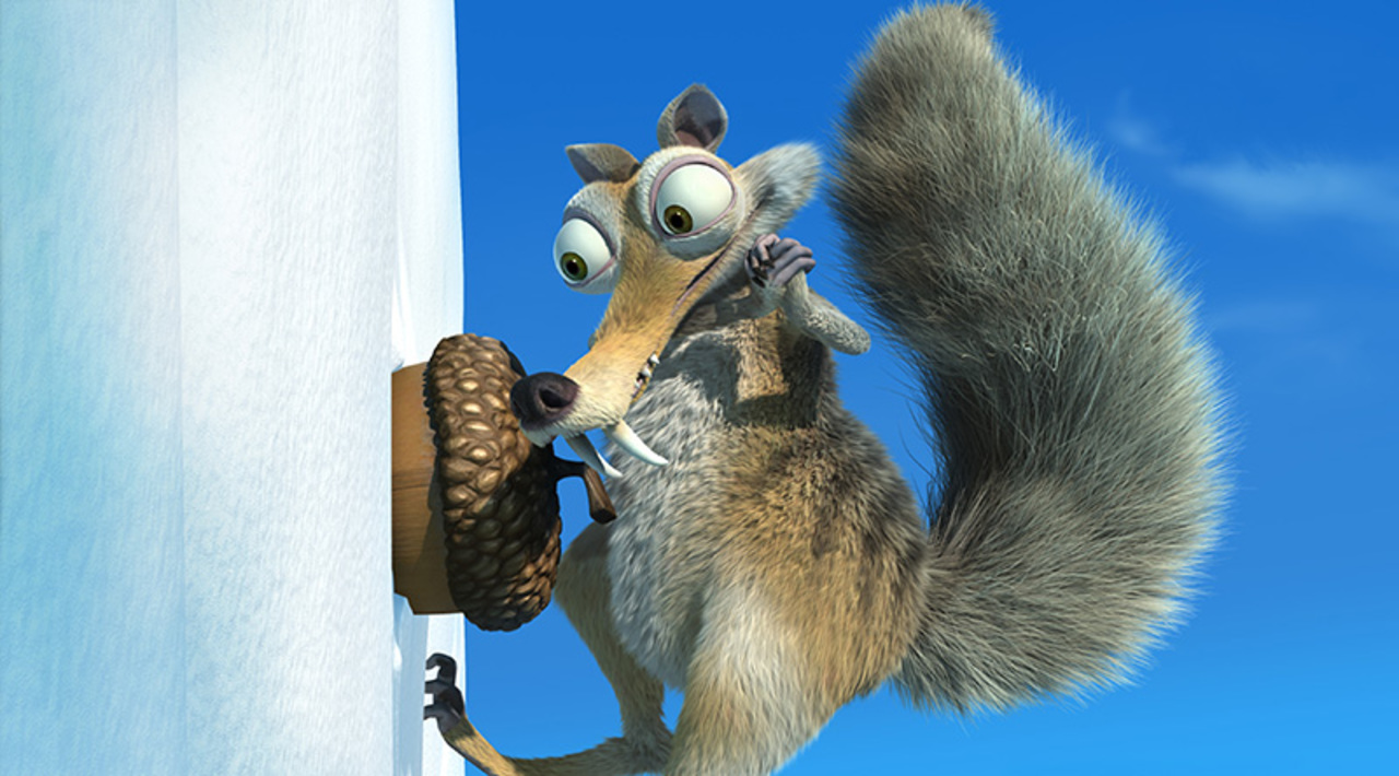IA2-10Scrat eyes his most treasured – and elusive – prize: a nut. Photo credit: Blue Sky Studios ICE AGE THE MELTDOWN TM & © 2006 Twentieth Century Fox Film Corporation. All rights reserved. Not for sale or duplication.