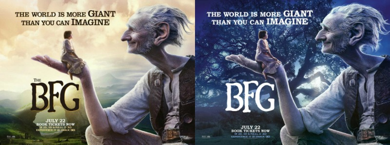 THE BFG posters