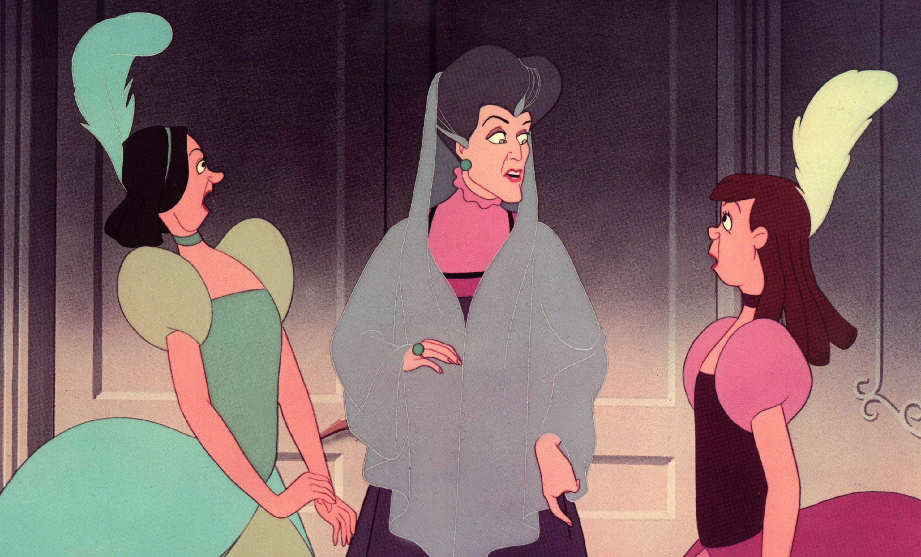 germanastres i lady tremaine CINDERELLA