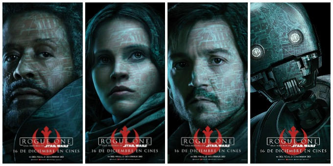 rogue-one posters personatges