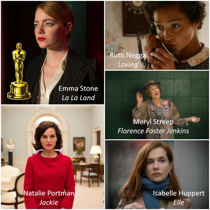 Millor Actriu Oscars 2017