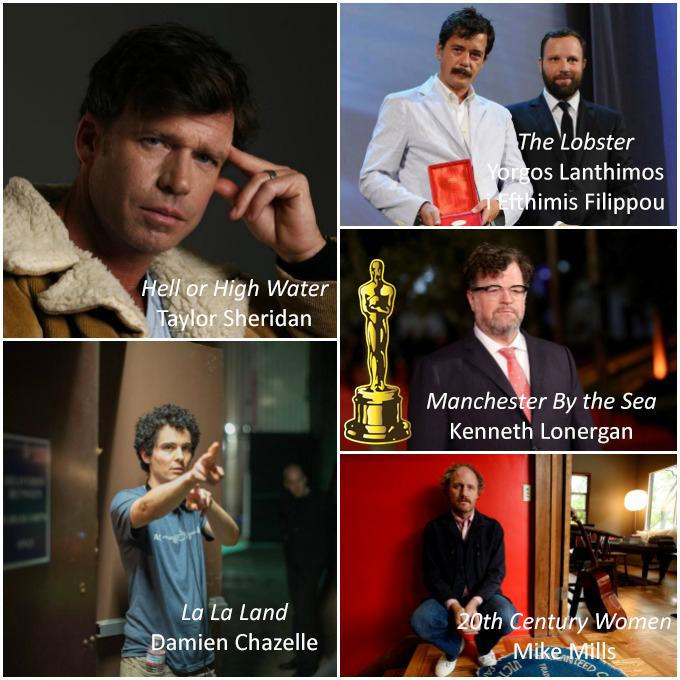 Millor Guió Original Oscars 2017