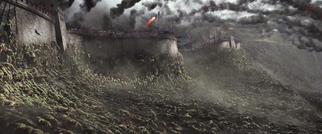 หนัง taotie attack the great wall