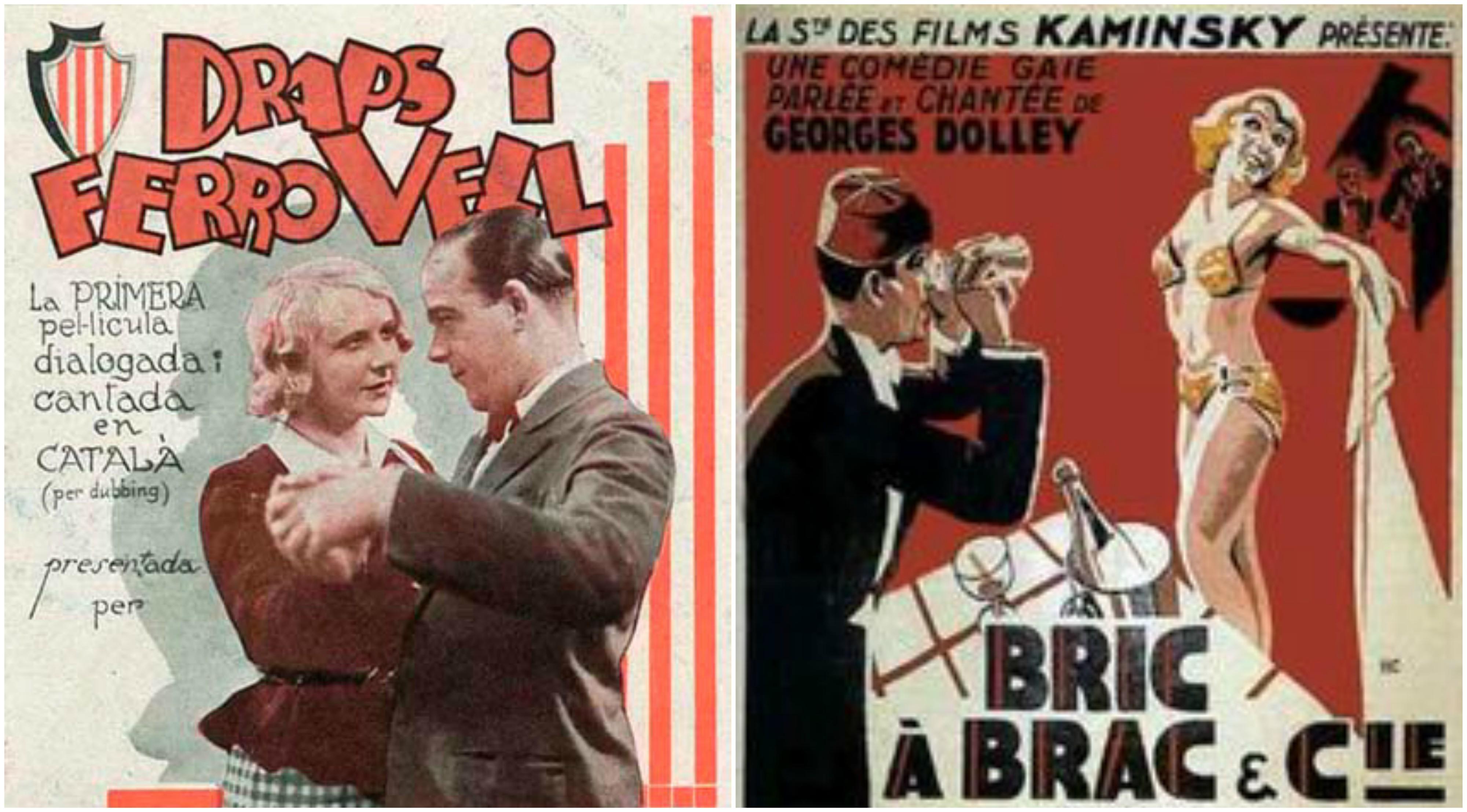 Primera pel·lícula doblada al català