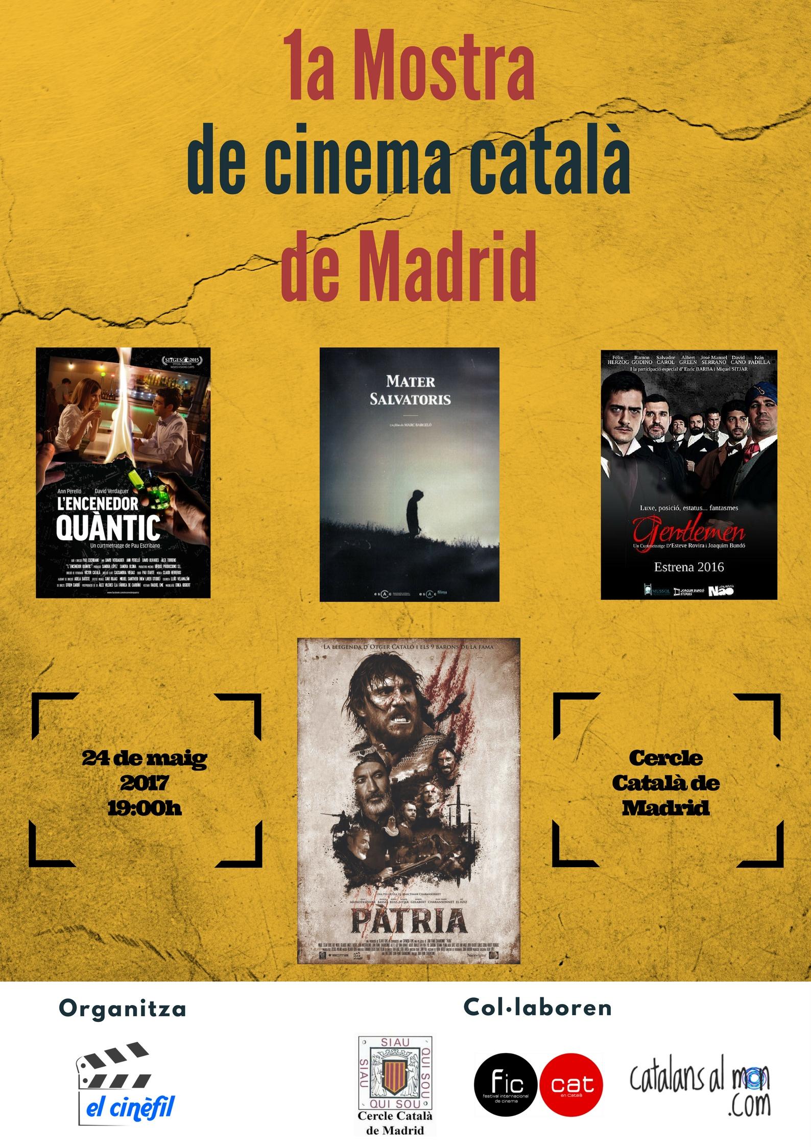 1a Mostra cine catala Madrid