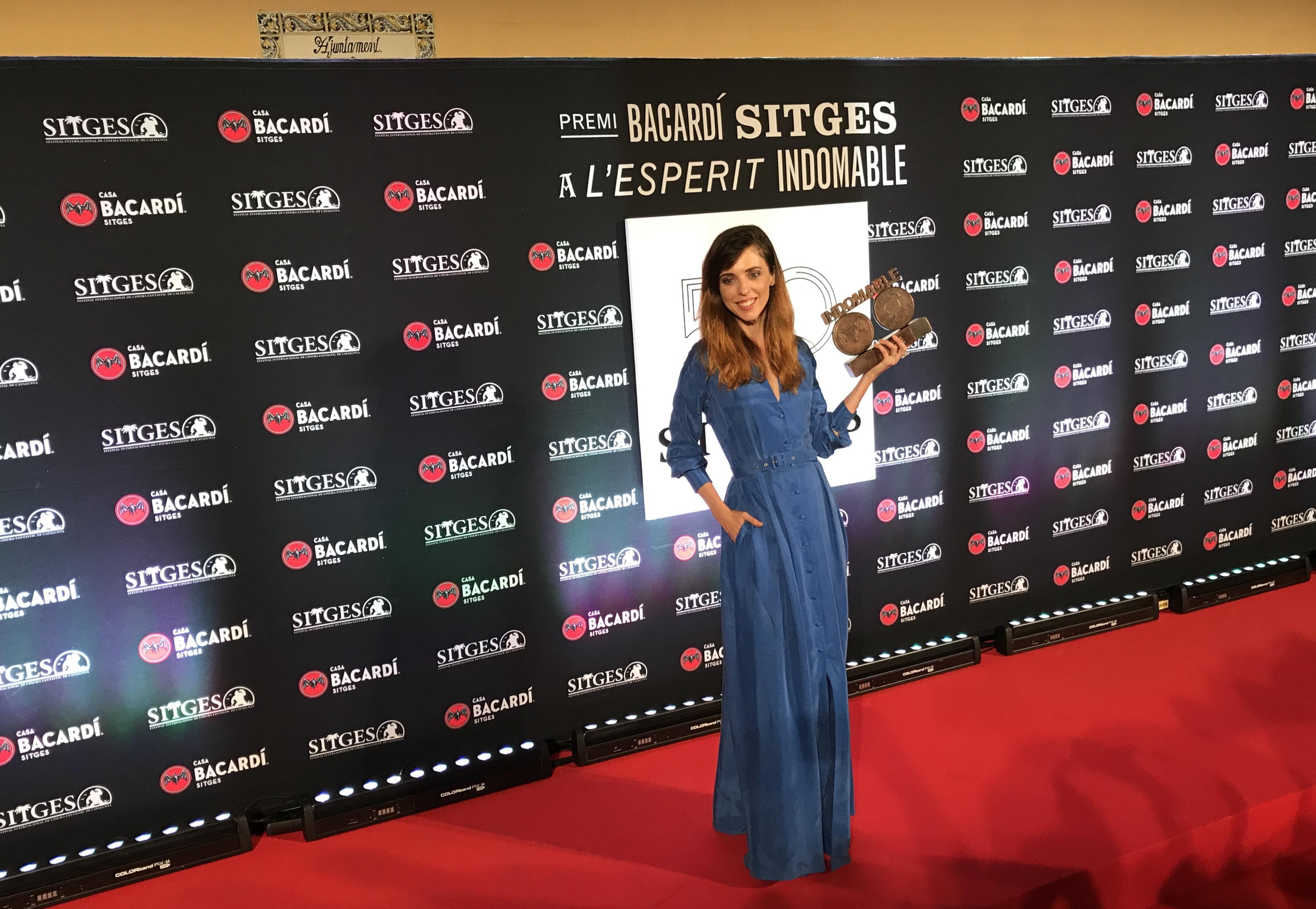 Letícia Dolera i el premi al seu 'esperit indomable'