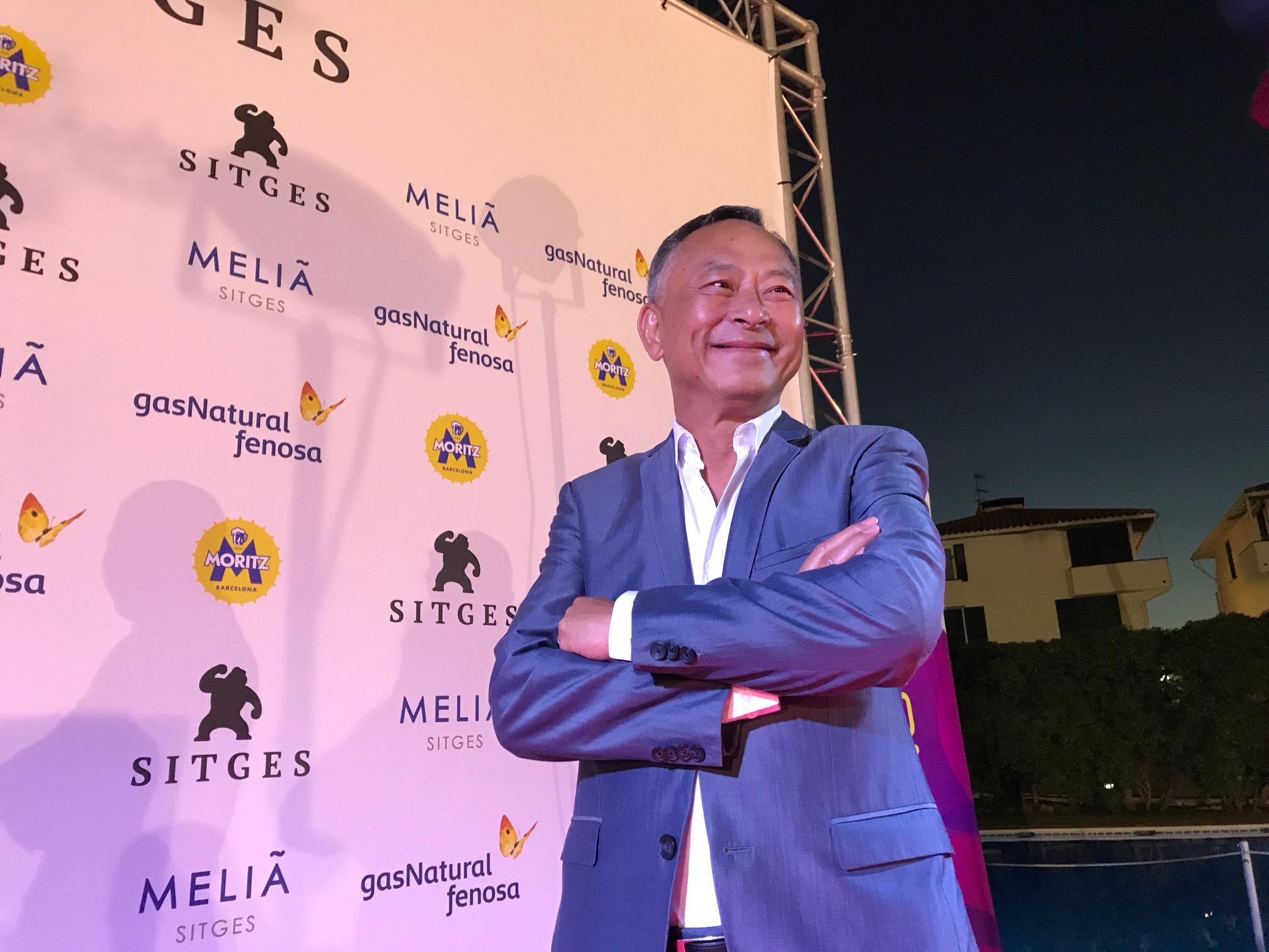 El director xinès Johnnie To feliç de tornar a Sitges