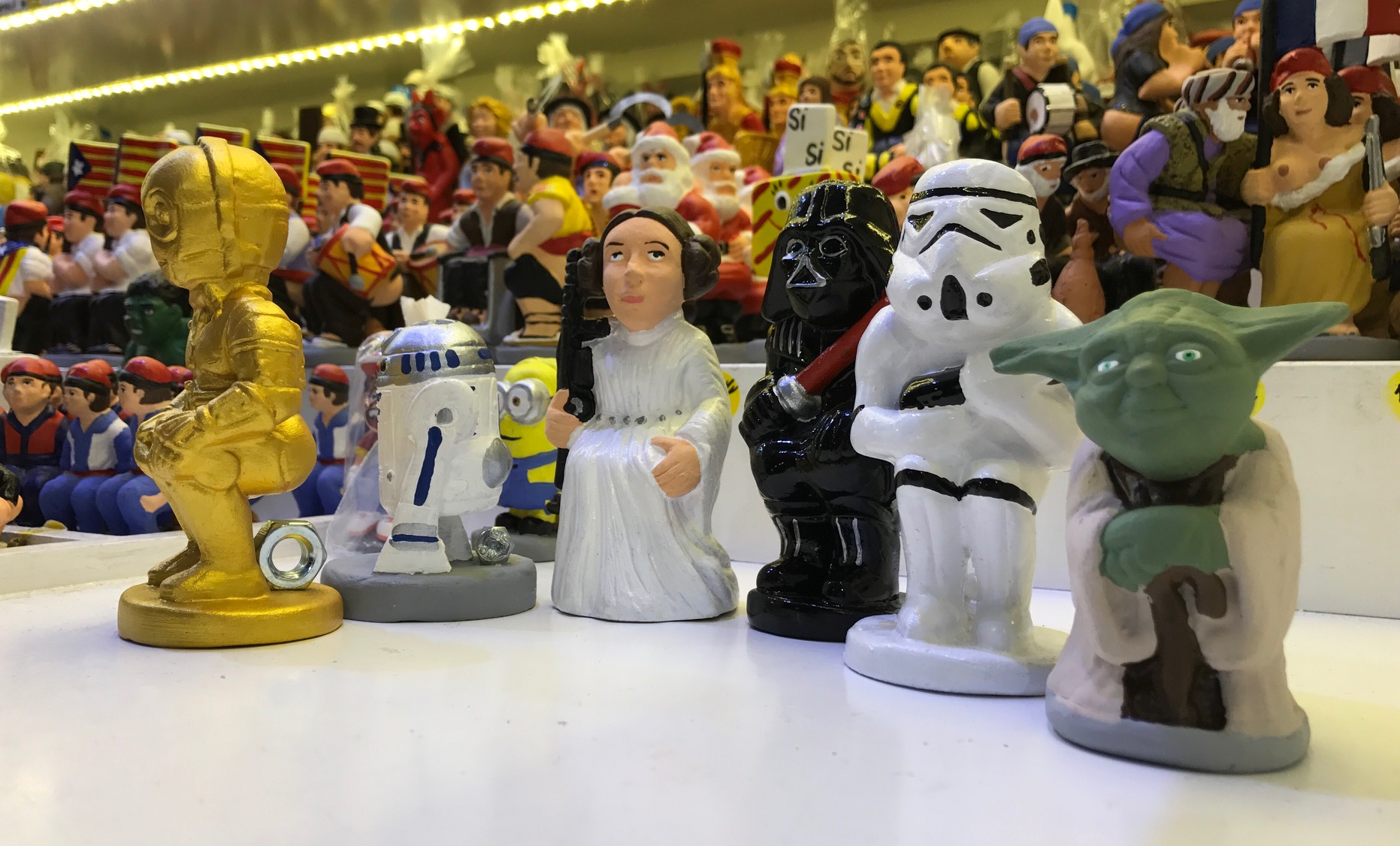 Caganers Star Wars