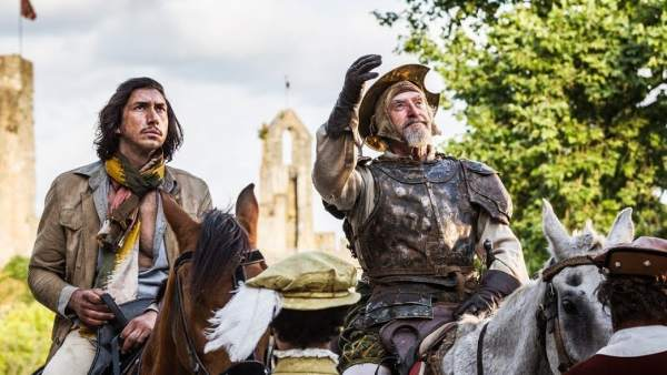 Terry Gilliam estrena el seu maleït 'Don Quijote'